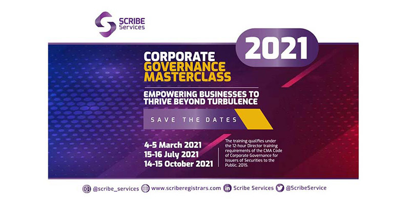 First Corporate Governance Masterclass Training in 2021